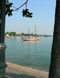 The lakefront at Bardolino