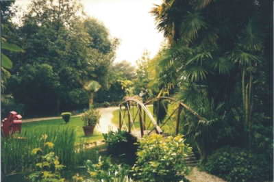 A wander through a park or gardens can be very relaxing