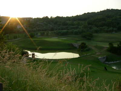 A round on a pleasant summers evening