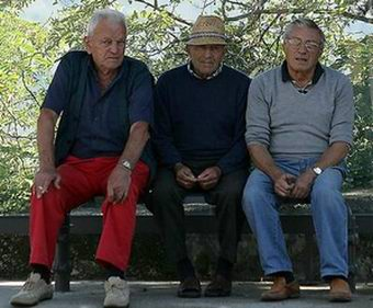 What's Italian for 3 grumpy old men??