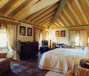 Inside hotel Locanda San Verolo, at Bardolino
