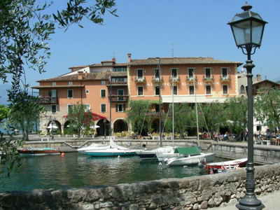One of the nicest ports on Lake Garda