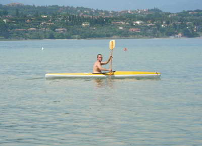 Lake Garda is ideal for kayaking!