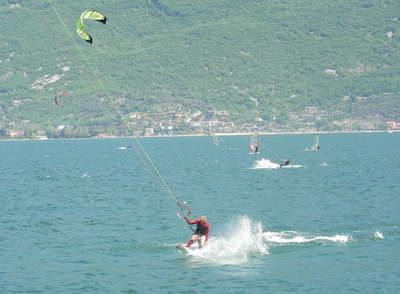 Landing from a jump!