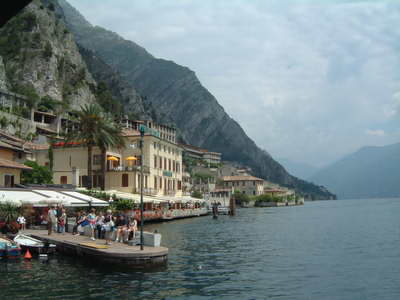 View to the north of Limone