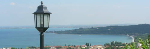 Lake Garda at the south end
