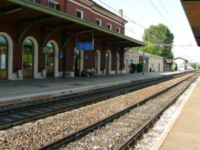 The station at Peschiera