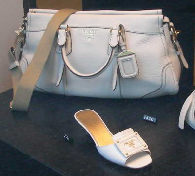 Prada handbag for anyone??