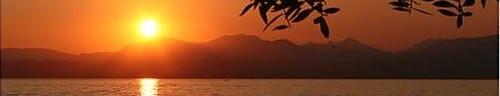 The spectacular scenery of Lake Garda