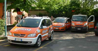 Taxis at the railway station