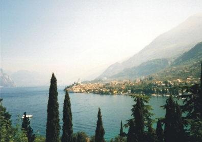 Malcesine has a beautiful setting