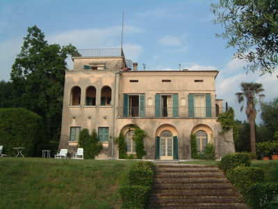 We stayed in this old villa, it had wonderful views and grounds!