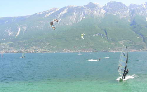 The reliable winds mean this is a top place for watersports