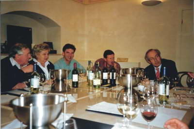 Wine tasting a highlight of the vineyard tours!