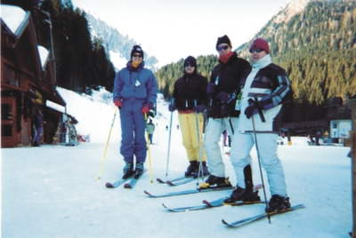 About to hit the slopes at San Martino!