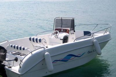 Rental boat from Garda boat