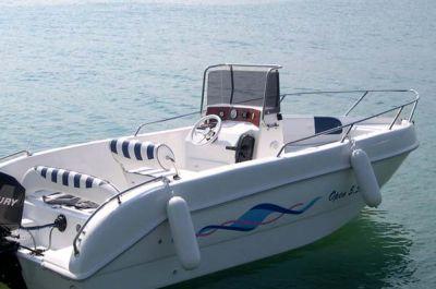 Rental boat from Garda boat