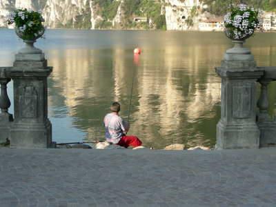 Early morning fishing at Riva...bliss!