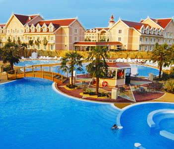 Gardaland hotel is one of the large resorts here