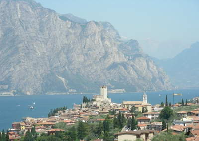 Malcesine has a wonderful location!