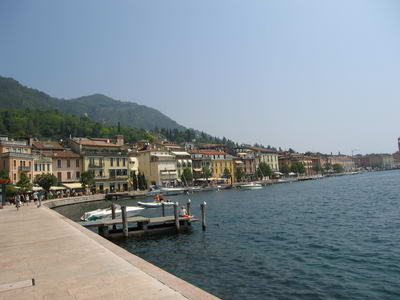 Salo promenade perfect for a lakeside walk