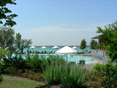 The Centro Terme Catullo, Sirmione, right by the lake. A great location for a spa!