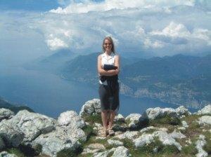 Me around 6000 ft up on Monte Baldo